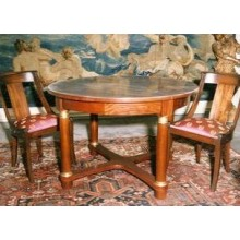 TABLE EMPIRE RONDE BIBI