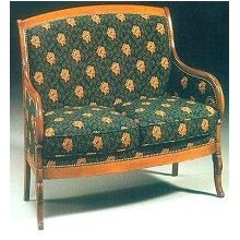 CANAPE BERGERE DIRECTOIRE MANILLE
